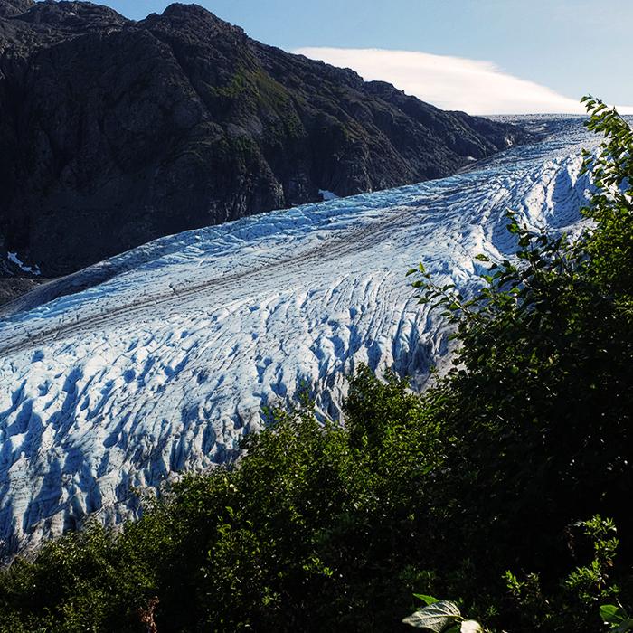 angie goes exploring honeymoon in 2½ itinerario di un mese in alaska e alle hawaii giorgia romiti exit glacier